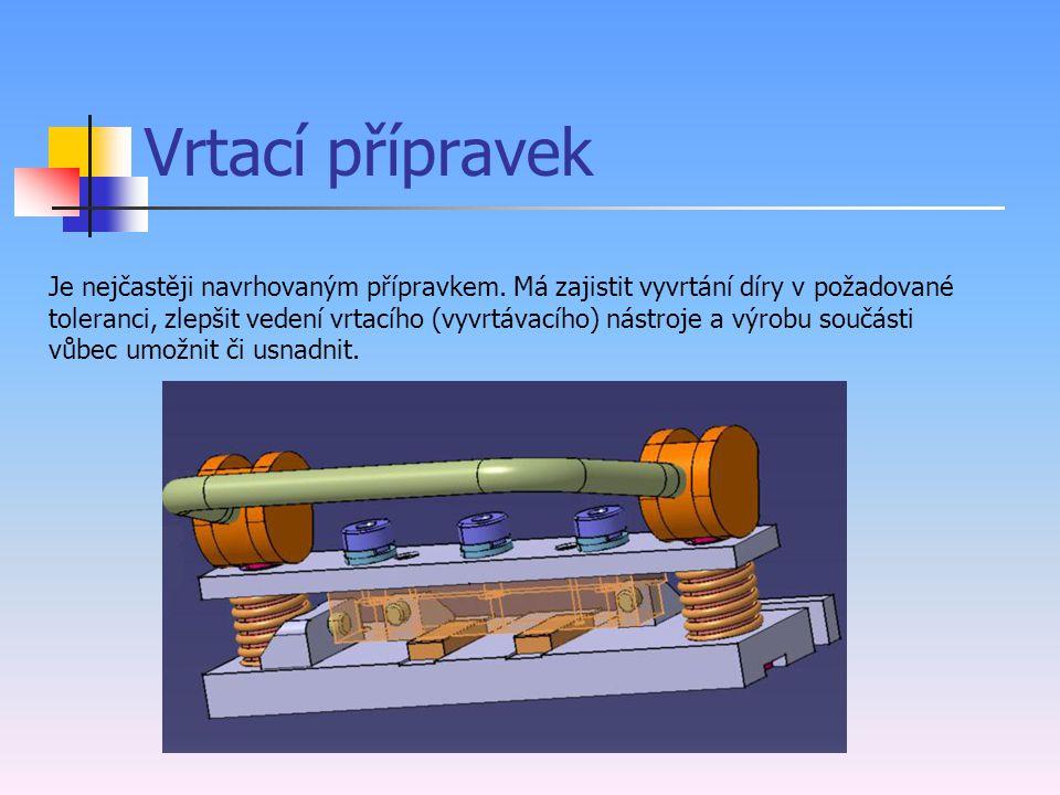 Úvod Přípravky jsou výrobní pomůcky, které slouží k rychlému a spolehlivému ustavení obráběné součásti v požadované poloze na obráběcím stroji a k jej