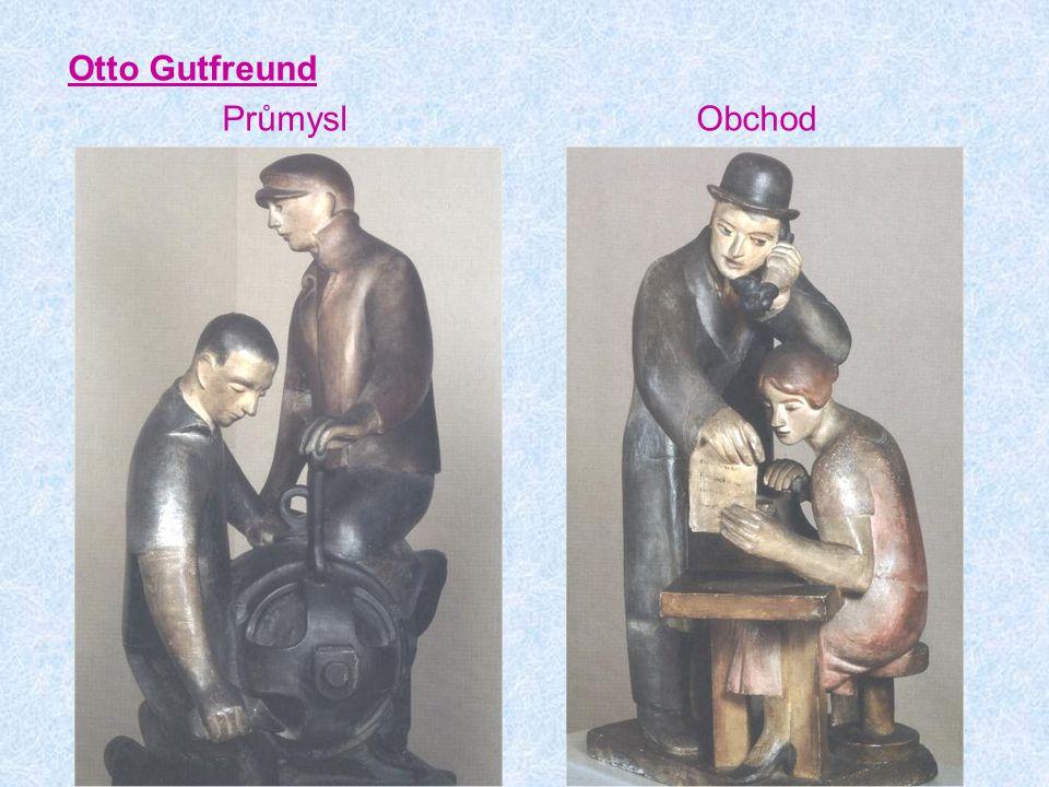 Otto Gutfreund Průmysl Obchod