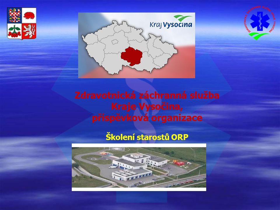 Zdravotnická záchranná služba Kraje Vysočina, příspěvková organizace Školení starostů ORP