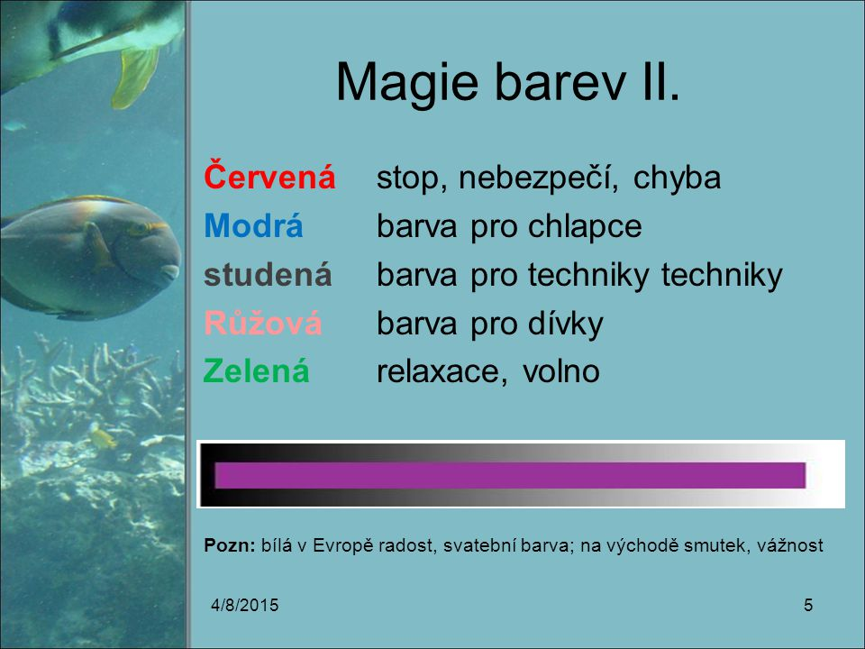 Magie barev II.