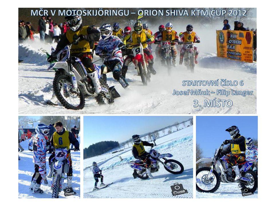 V MČR motoskijöringu se letošní rok odjelo 8 kvalitně obsazených závodů.