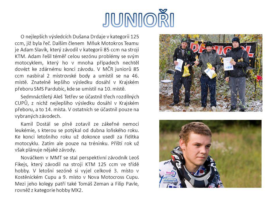 Josef a Roman Mňukovi se budou nadále účastnit přednostně závodů Mistrovství Evropy amatérů I.M.B.A.
