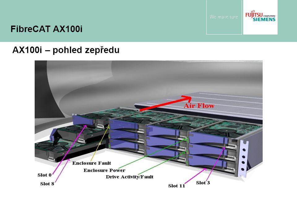 AX100i – pohled zepředu FibreCAT AX100i