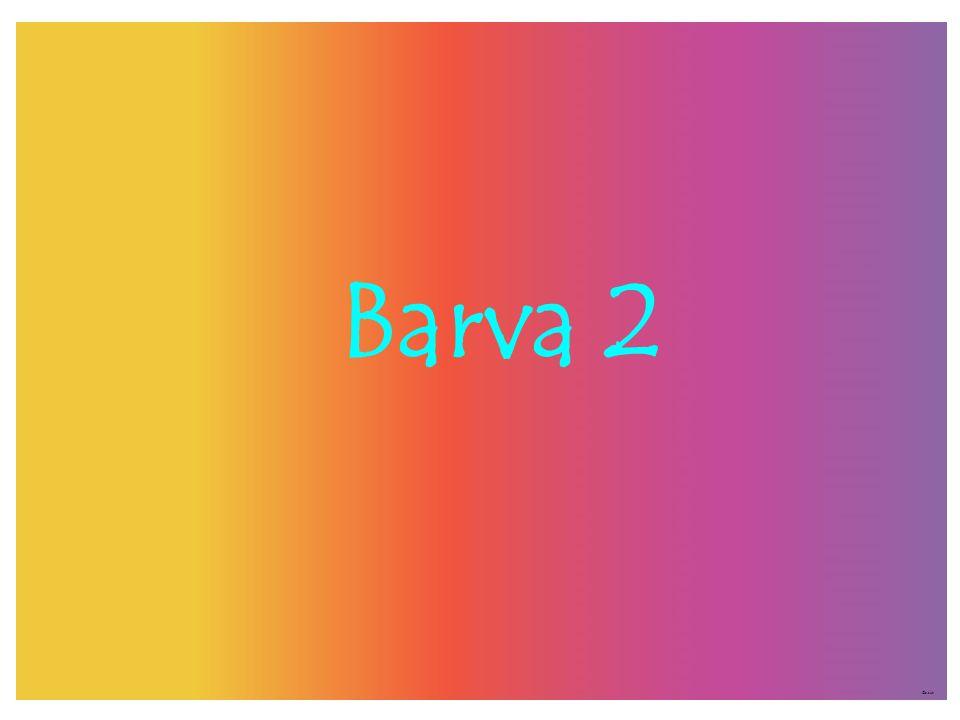 Barva 2 ©c.zuk