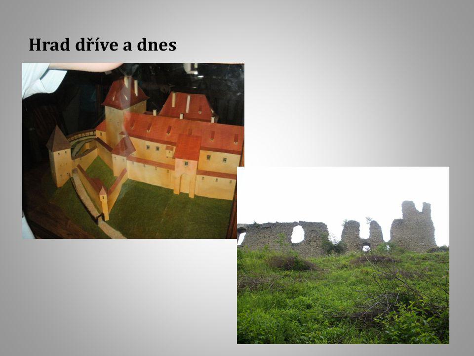 Hrad dříve a dnes