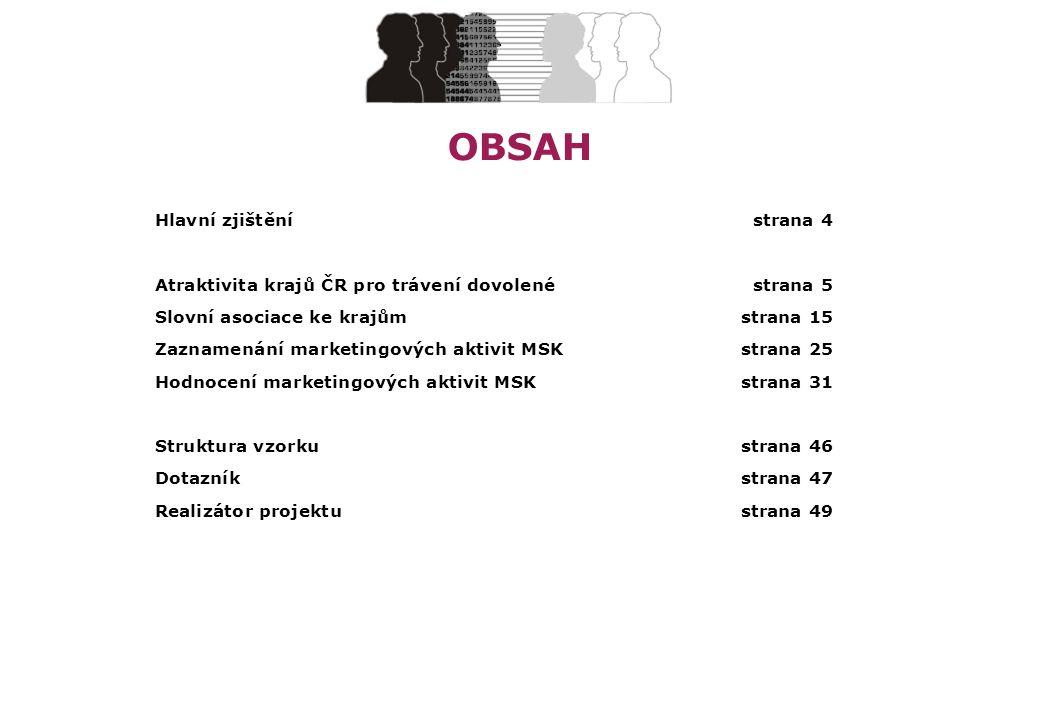 STEM/MARK, a.s.MSK – Kraj plný zážitků, červenec 2012strana 23 Asociace – Olomoucký, Zlínský a Jihomoravský kraj