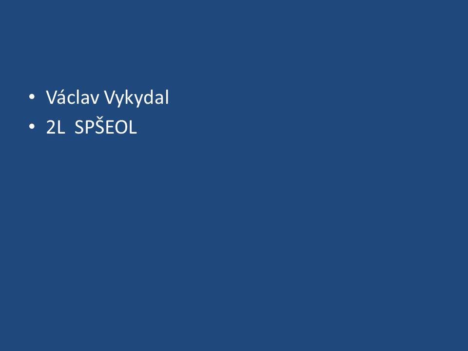 Václav Vykydal 2L SPŠEOL