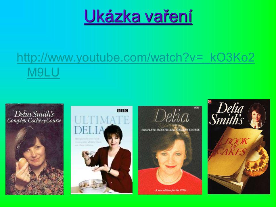 Ukázka vaření http://www.youtube.com/watch?v=_kO3Ko2 M9LU
