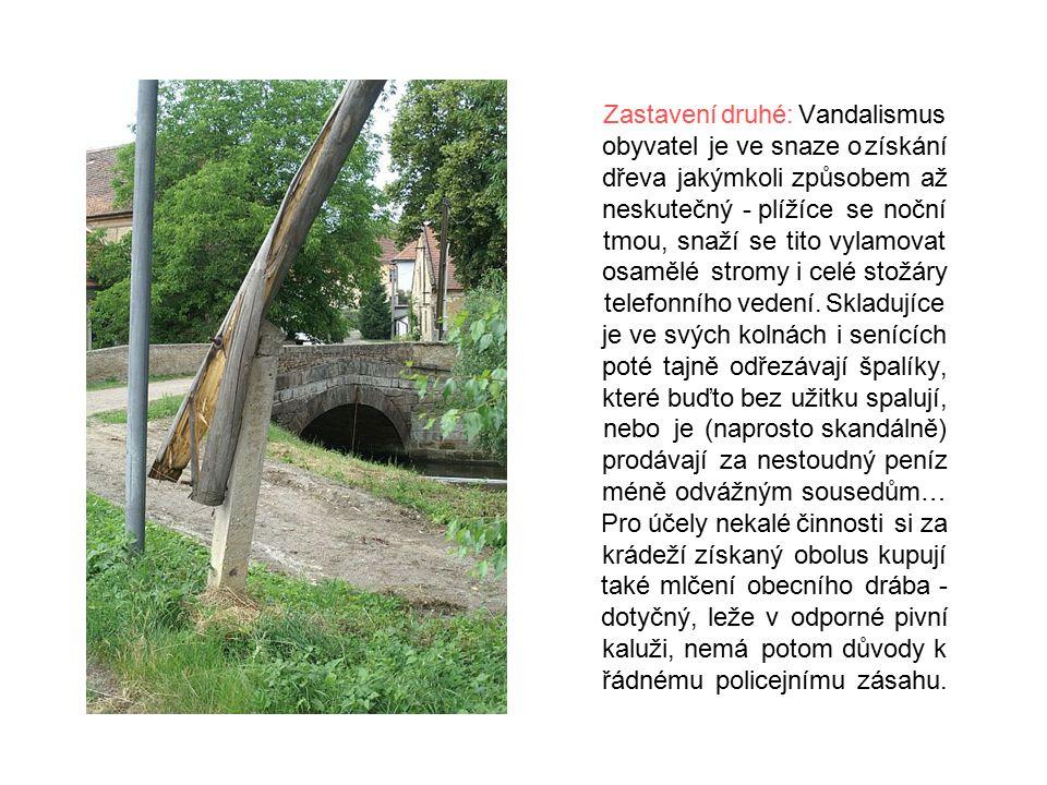 Zastavení třetí: Velmi vzácná technická památka u starého mlýna v Doksanech.