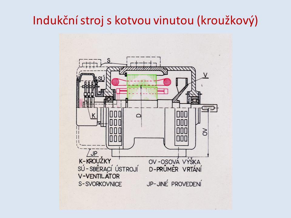 K zopakování: Popište základní konstrukční části elektromotoru.