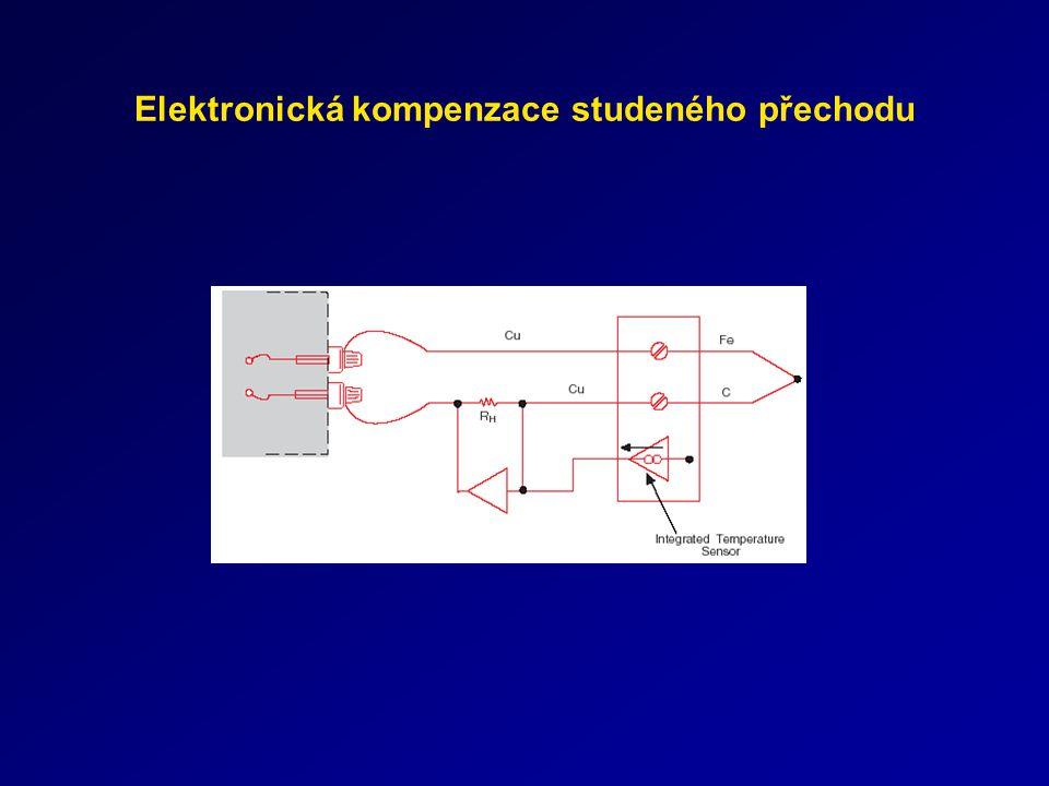 Digitální polovodičový teplotní detektor Přímý převod teploty na digitální údaj, Přesnost jednoduchých senzorů typ.