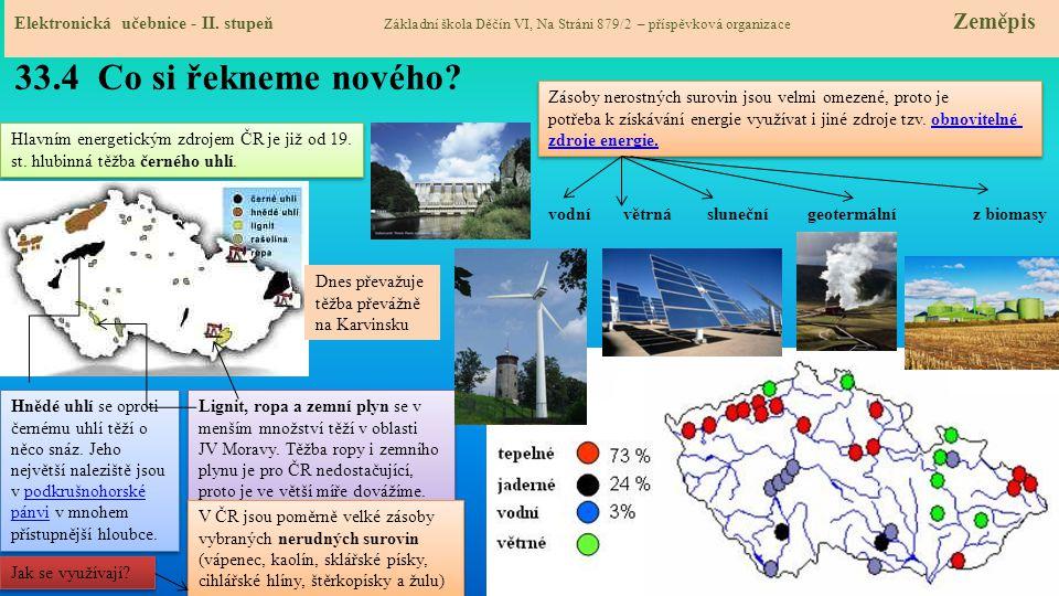 33.5 Procvičení a příklady Elektronická učebnice - II.