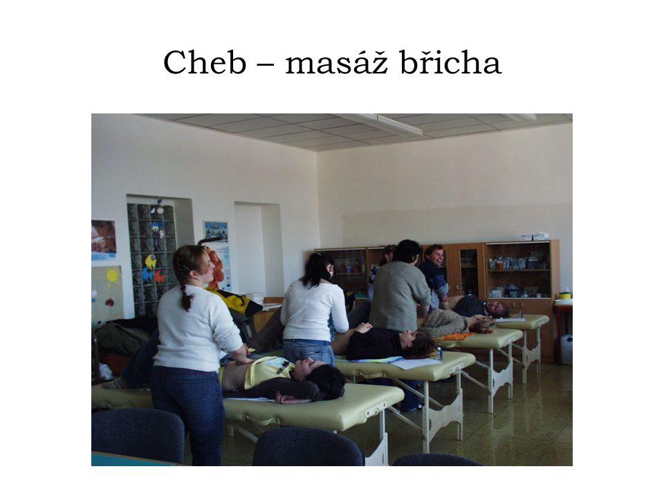 Cheb – masáž břicha
