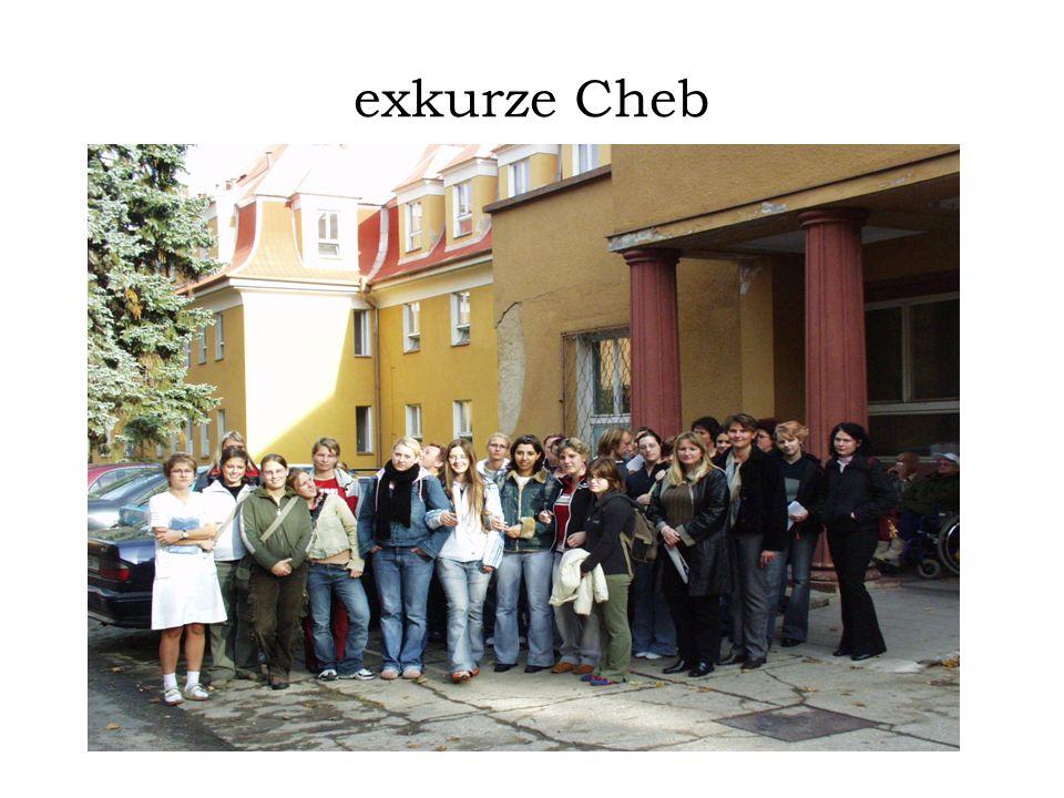 exkurze Cheb