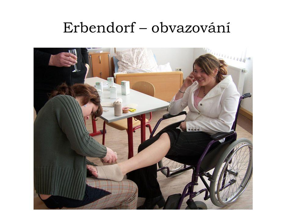 Erbendorf – obvazování