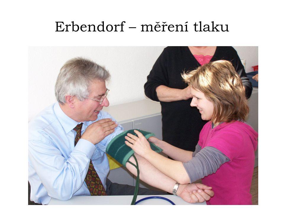 Erbendorf – měření tlaku