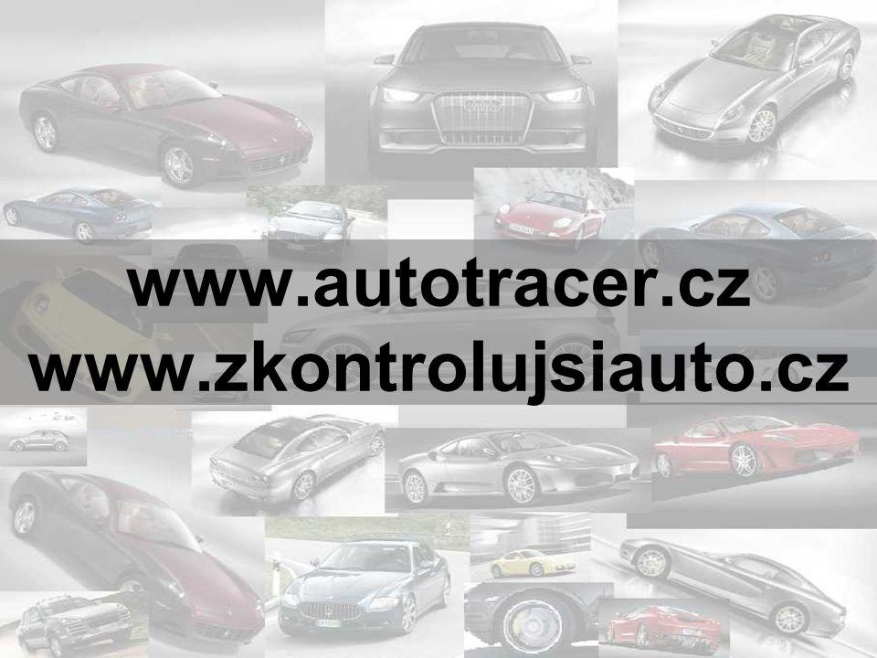 www.autotracer.cz www.zkontrolujsiauto.cz