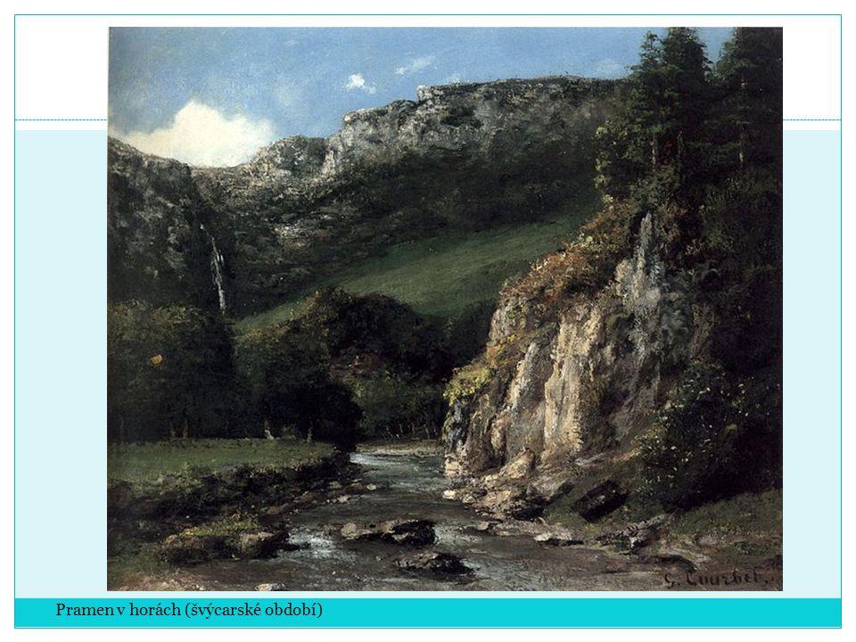 Pramen v horách (švýcarské období)