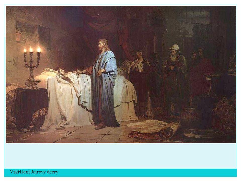 Vzkříšení Jairovy dcery