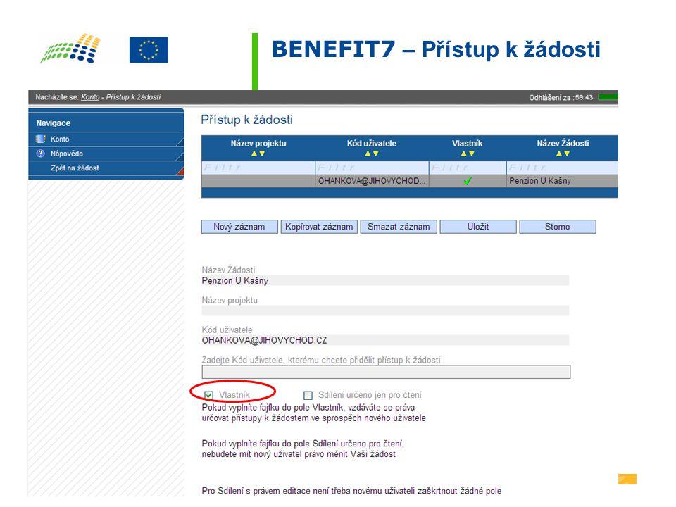 BENEFIT7 – Partner projektu