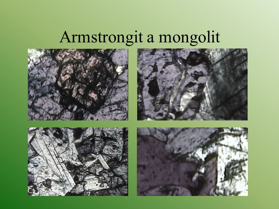 Armstrongit a mongolit