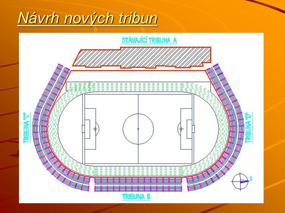 Návrh nových tribun