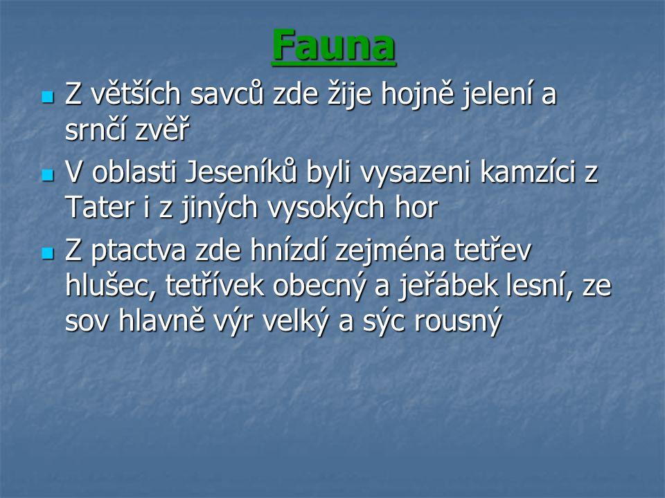 Rekreace a lázně Lázně Jeseník, Lipová Lázně a Karlova Studánka, které slouží k rekreaci a léčbě.