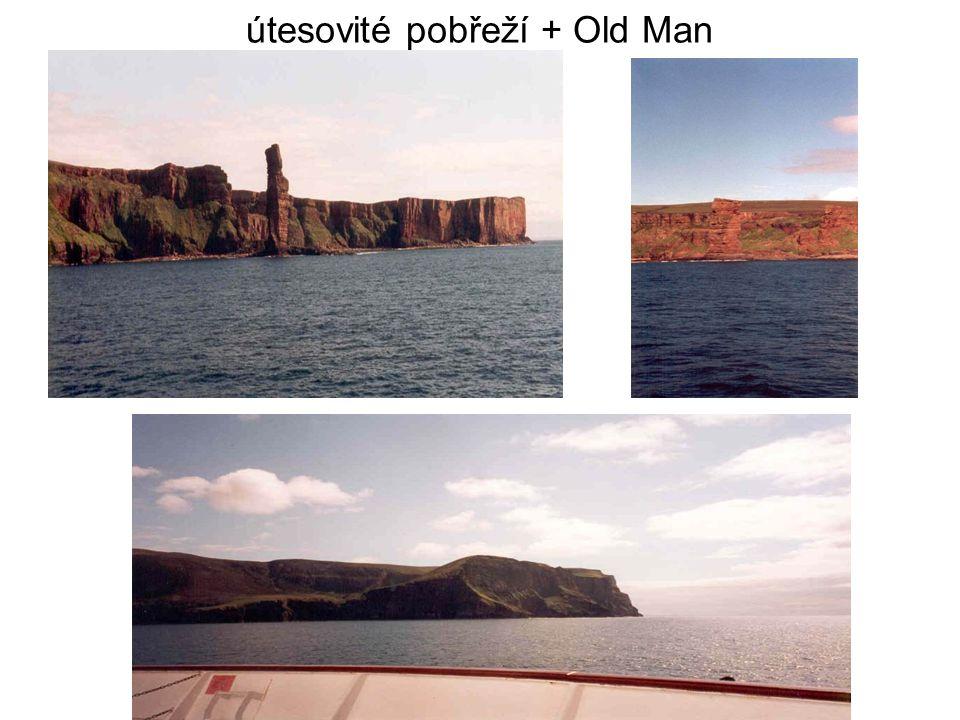 útesovité pobřeží + Old Man