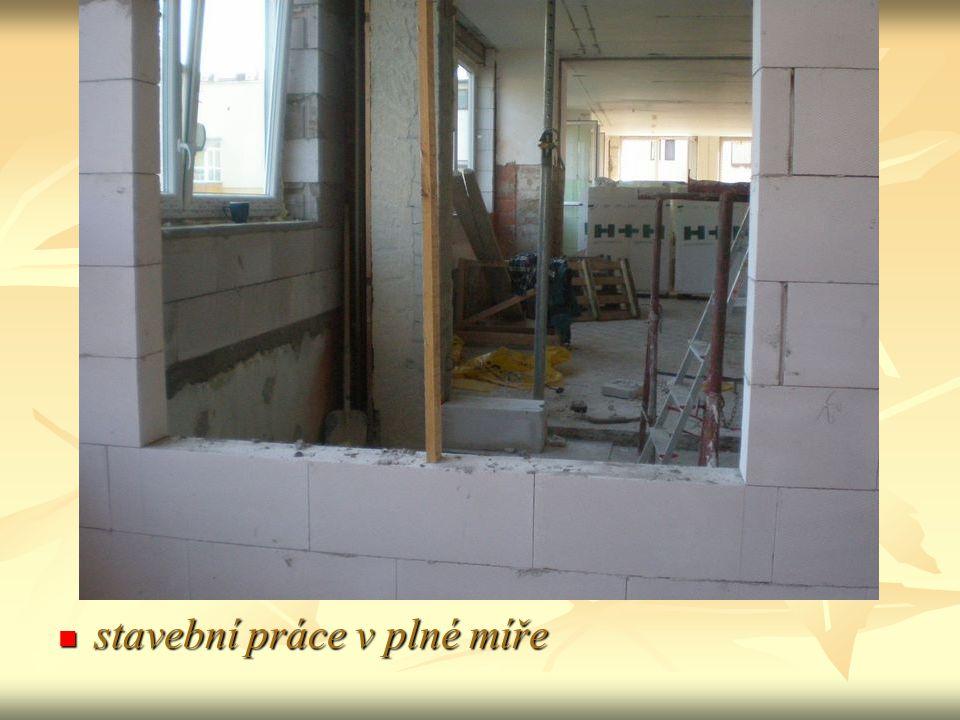stavební práce v plné míře stavební práce v plné míře