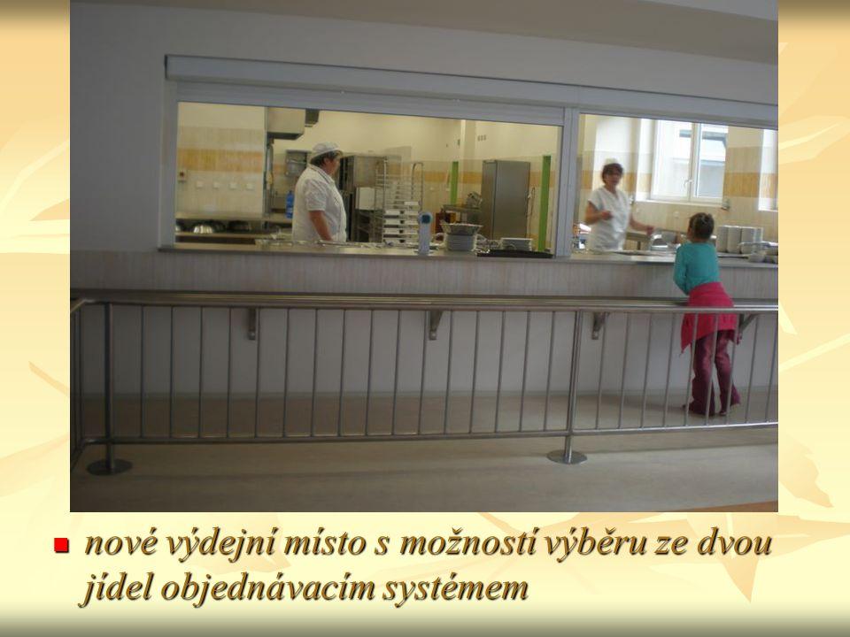 nové výdejní místo s možností výběru ze dvou jídel objednávacím systémem nové výdejní místo s možností výběru ze dvou jídel objednávacím systémem