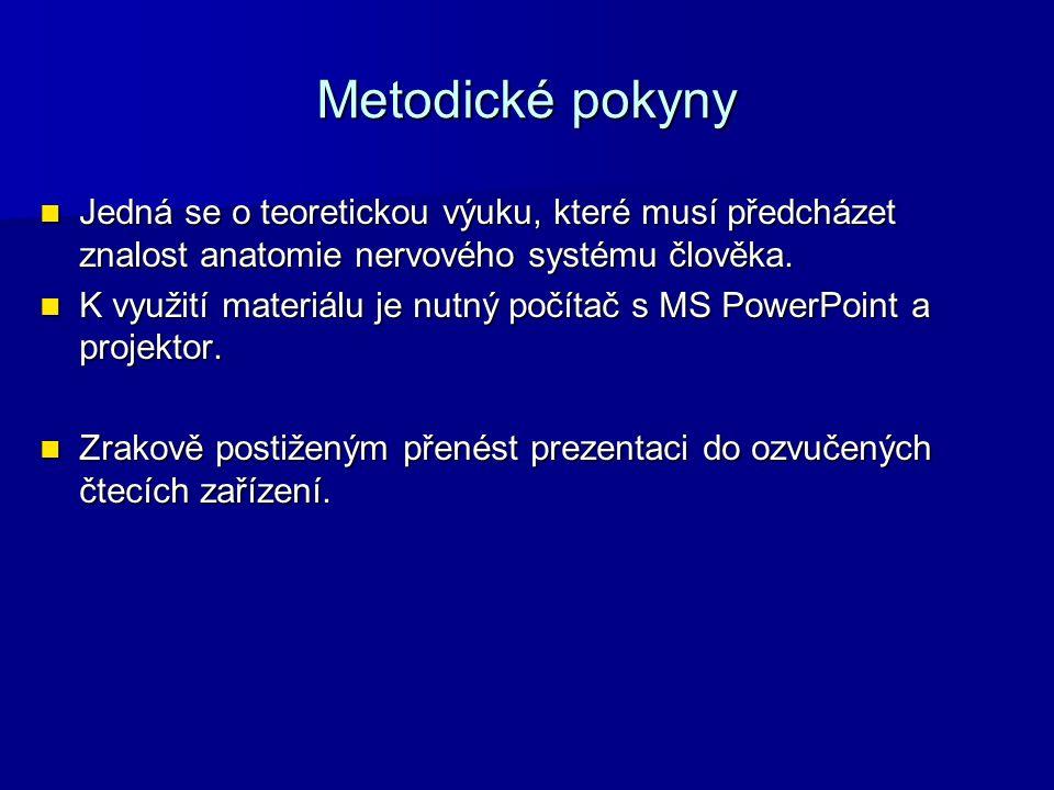 Zdroje HALADOVÁ, Eva a Ludmila NECHVÁTALOVÁ.Vyšetřovací metody hybného systému.