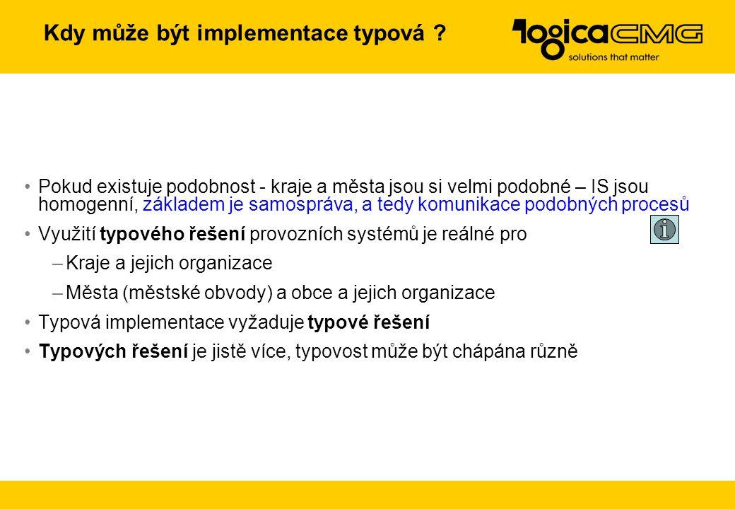 Typová implementace provozních systémů jako cesta k úspoře Public Suite aneb Veřejná správa v kostce Základní kameny a jejich kladení …. to je impleme