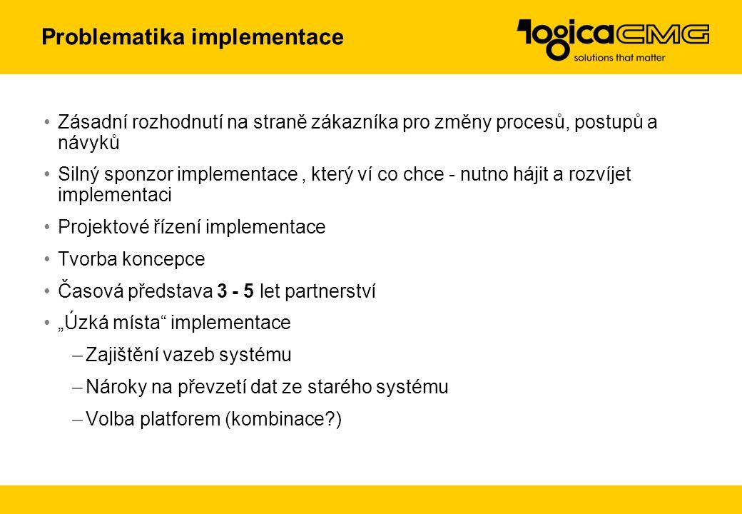 Moduly Procesy Implementace v dalších organizacích
