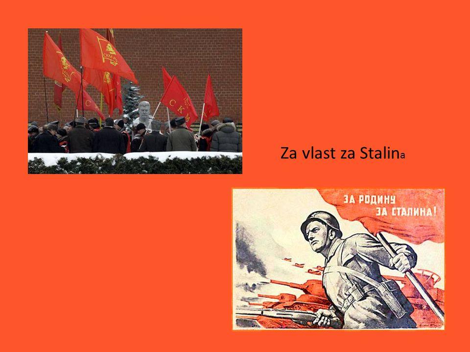 Za vlast za Stalin a