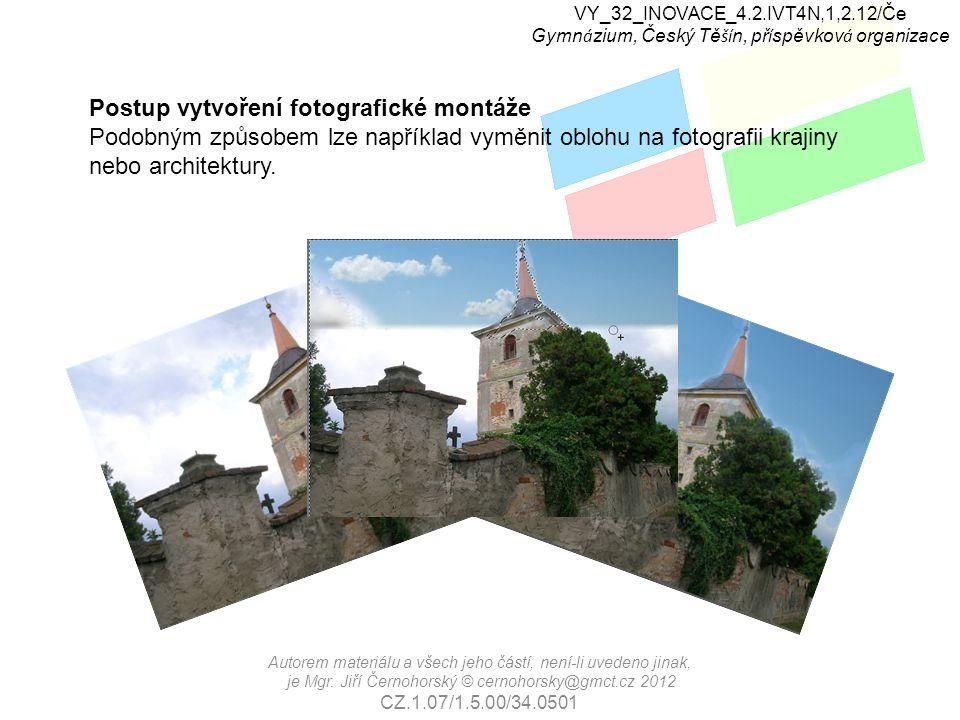 VY_32_INOVACE_4.2.IVT4N,1,2.12/Če Gymn á zium, Český Tě ší n, př í spěvkov á organizace Zdroje: www.wikipedia.cz Autorem materiálu a všech jeho částí, není-li uvedeno jinak, je Mgr.