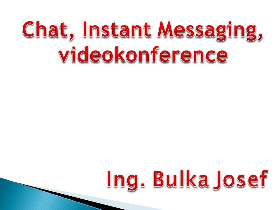 Interaktivní komunikace Pro interaktivní komunikaci je typická okamžitá odezva uživatelů, kteří se jí zúčastňují.