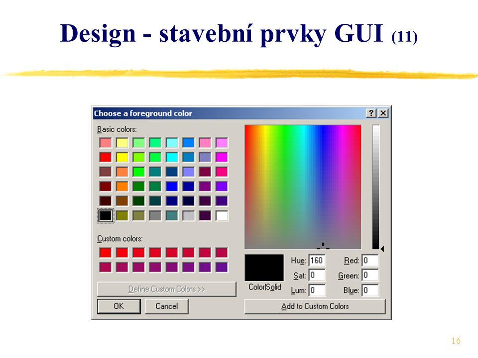 16 Design - stavební prvky GUI (11)