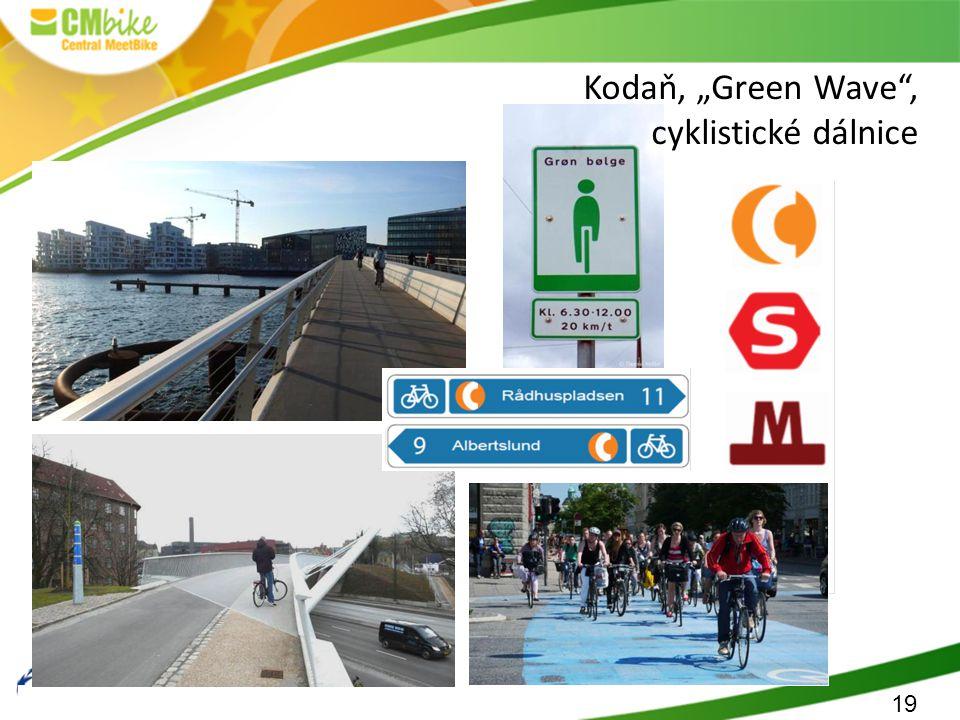 """19 Kodaň, """"Green Wave , cyklistické dálnice"""