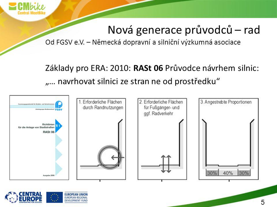 5 Nová generace průvodců – rad Od FGSV e.V.