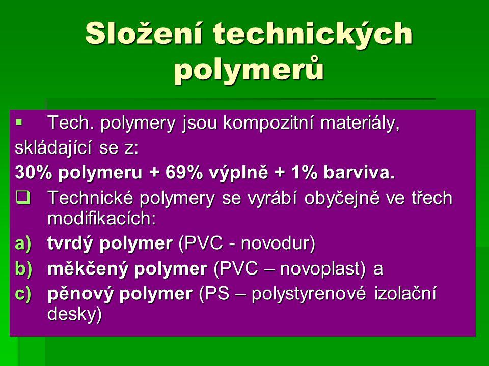 Složení technických polymerů  Tech.