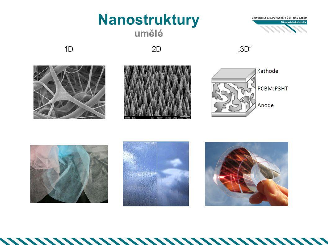 "Nanostruktury umělé 1D2D""3D"