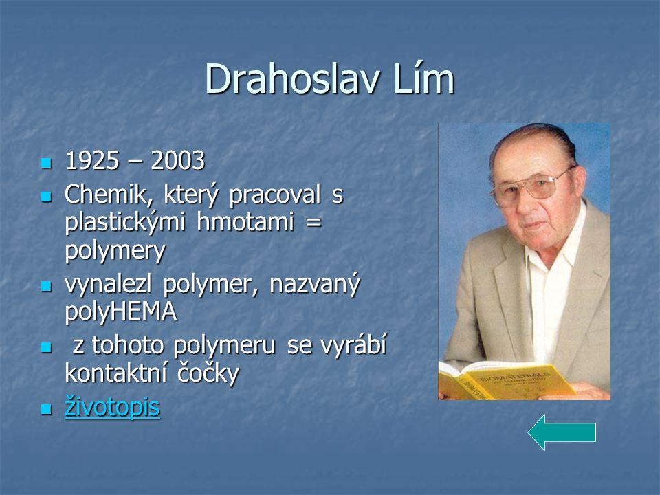 Otto Wichterle 1913 – 1998 1913 – 1998 Jeden z nejvýznamnějších českých vědců a vynálezců 20.