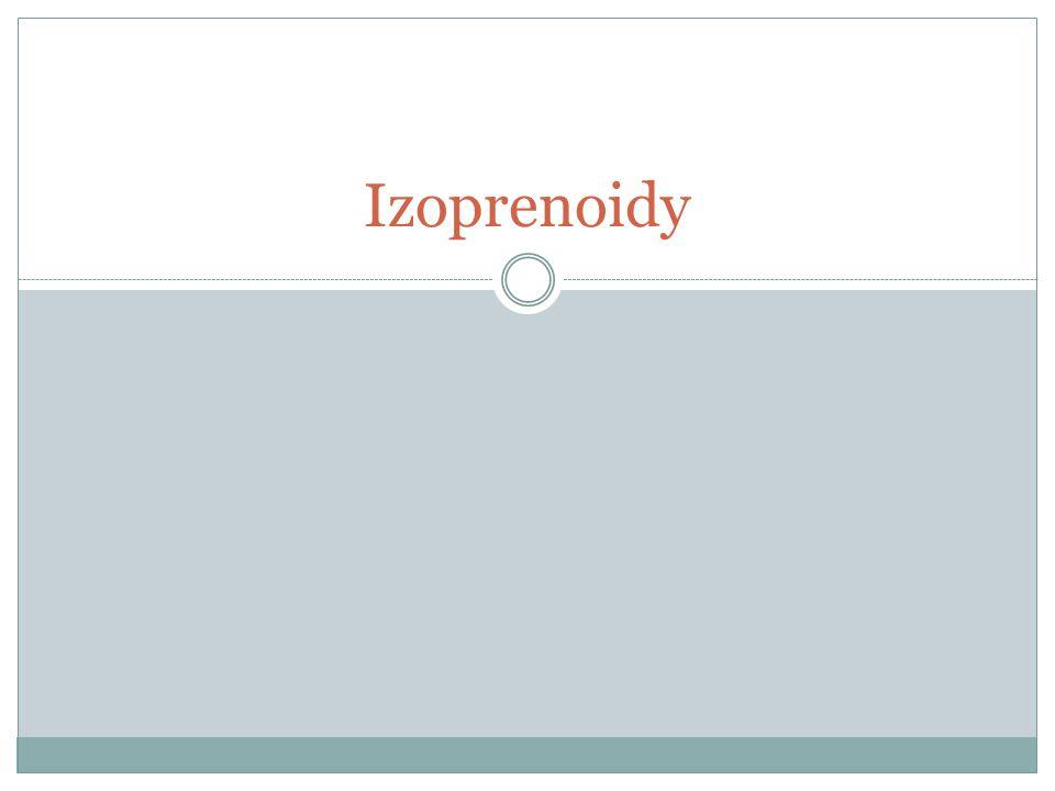 Izoprenoidy