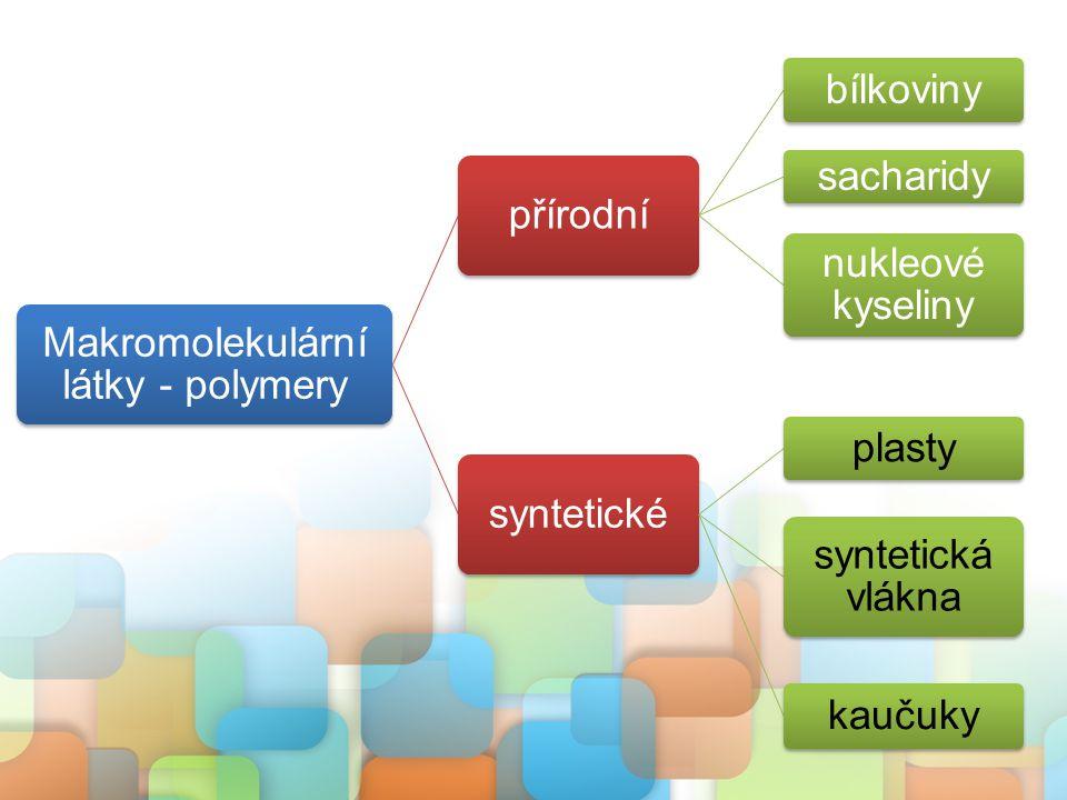 uměle (synteticky) vyrobené látky známé od druhé poloviny 19.