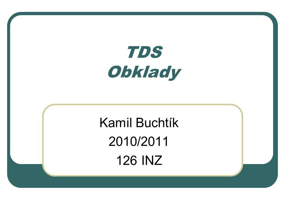 TDS Obklady Kamil Buchtík 2010/2011 126 INZ
