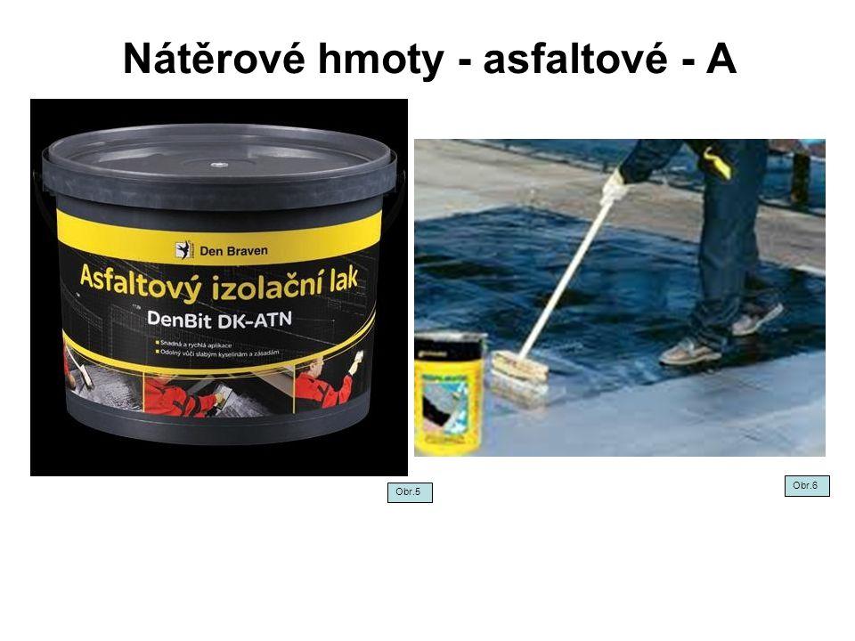 Nátěrové hmoty - olejové - O Společným znakem olejových NH je pomalé schnutí, vysoká pružnost, odolnost proti vlhkosti a povětrnostním vlivům, hladký a lesklý povrch.