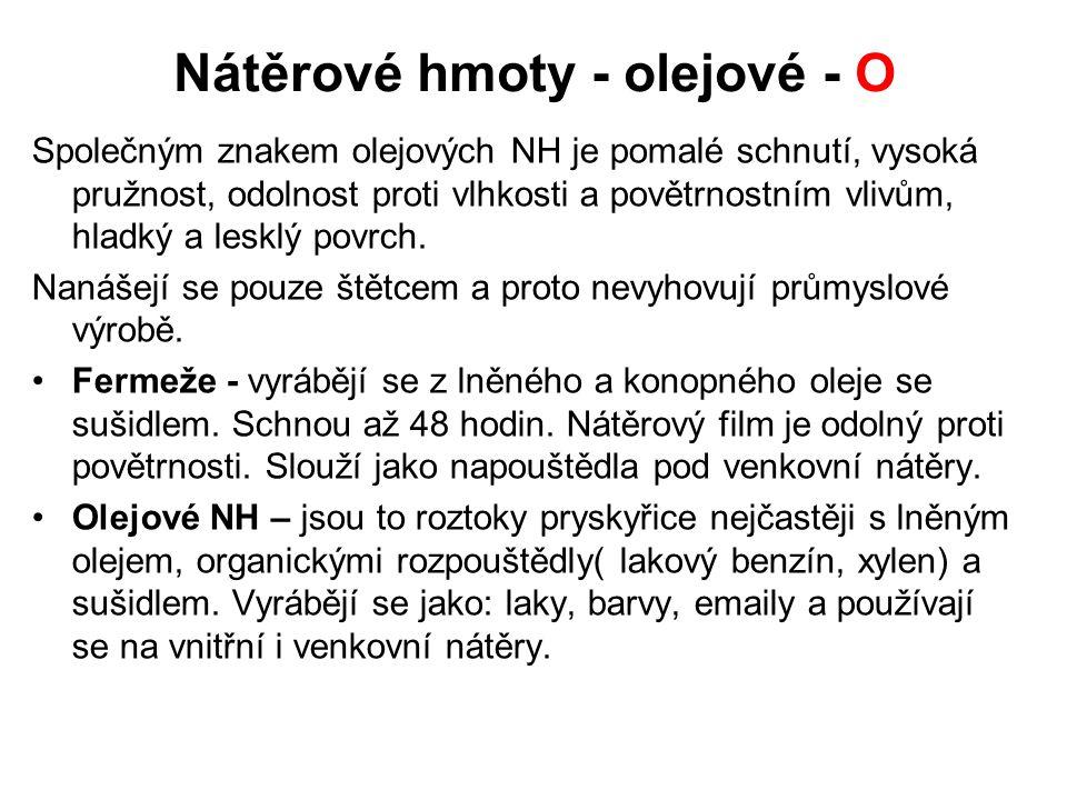 Nátěrové hmoty - vodou ředitelné - L Obr.14Obr.15 Obr.16