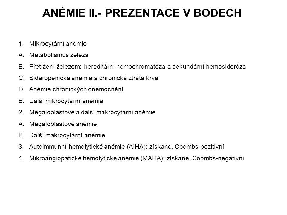 Imunní hemolytické anémie Imunní hemolytické anémie jsou charakterizované protilátkami-mediovanou destrukcí erytrocytů intravaskulárně a/nebo extravaskulárně (ve slezině, játrech, event.