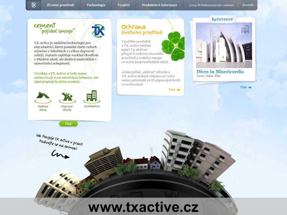 Stránka 9 - 12.04.2012 TX Active – technologie pro pohledový beton, Ondřej Matějka www.txactive.cz