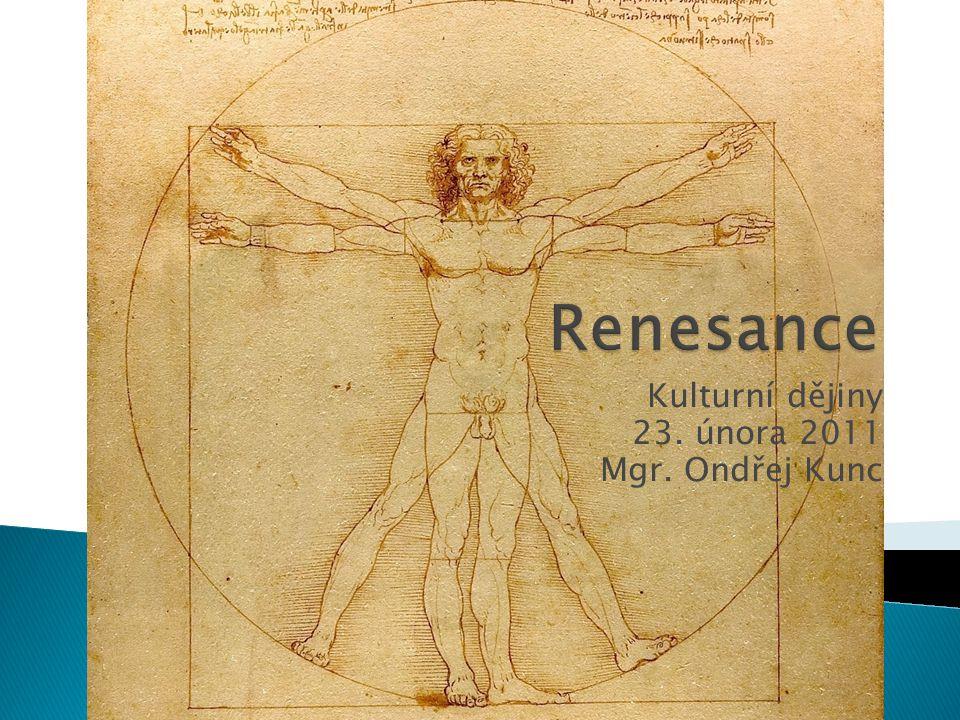  Úvod – politická a společenská situace  Humanismus  Renesance x Gotika  Trecento x Quattrocento  Raná renesance  Architektura  Sochařství  Malířství